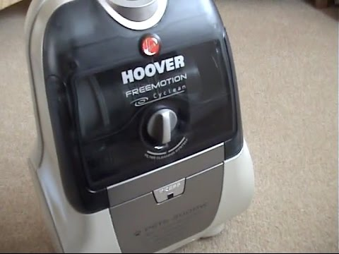 HOOVER FREEMOTION CYCLEAN UNBOXING AND DEMONSTRATION