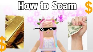 How to scam in adopt me | scammers guide