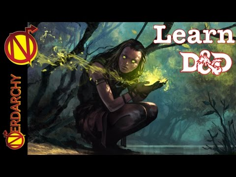 Intro Into D&D Classes- Druid| How to Play Dungeons and Dragons