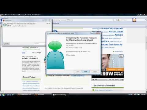 Windows Live Password Recovery