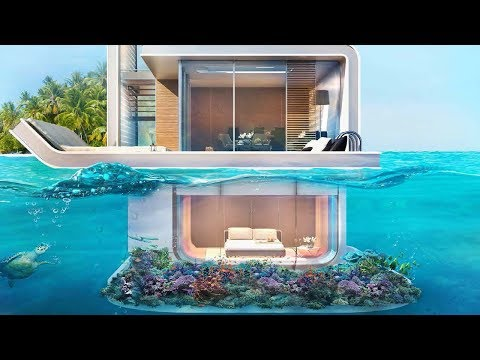 Minecraft: How to Build a Modern House on Water #2 - Tutorial