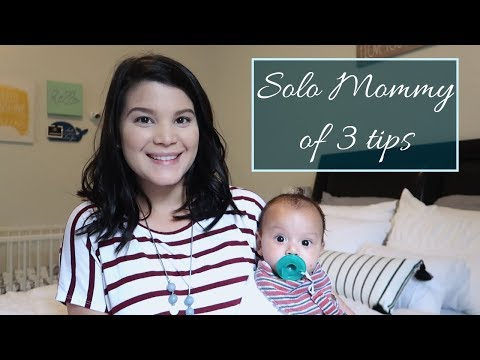 How I Balance Everything as a Solo Mom of 3 | Tips as a single mom