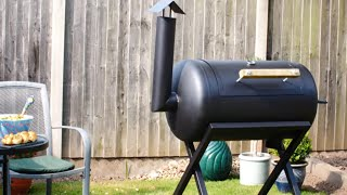 The BIG Barbecue Build - Building a Barrel Barbecue Project