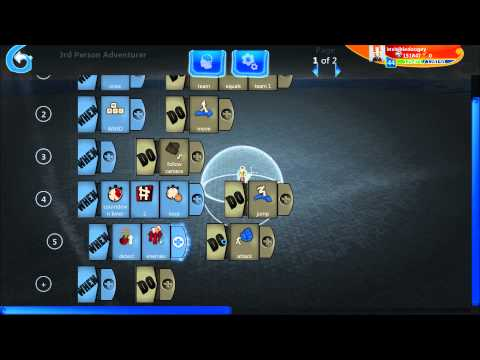 Project Spark Tutorial: Lesson 1 (Kode Concept)