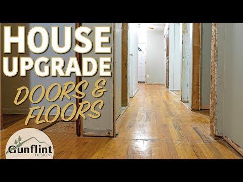 Patching & Refinishing Hardwood Floors | Home Renovation Project