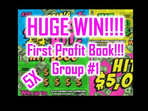HUGE WIN!!! FIRST PROFIT BOOK!! GA Lottery SUPER HIT Ticket Group 1. Congrats Everyone!!!!!!