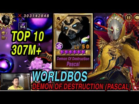 Seven Knights - TOP RANK World Bos Demon Of Destruction (Awakening