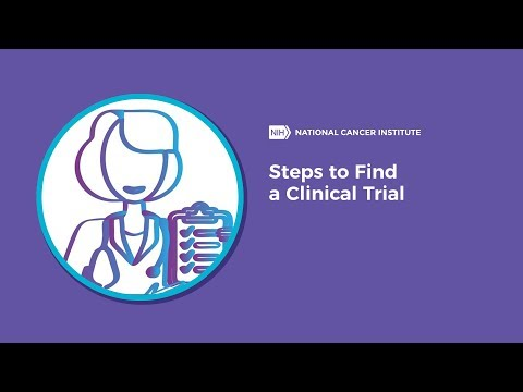 Steps to Find a Clinical Trial