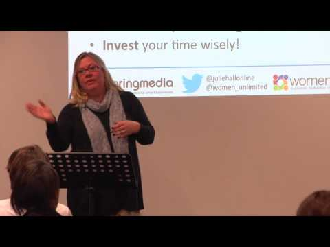 Effective business networking for start-ups - Julie Hall @ the Sage business huddle