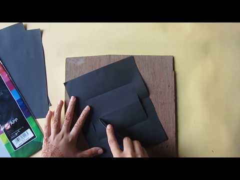 How to make a simple pop up card with letters| pop up pakistan