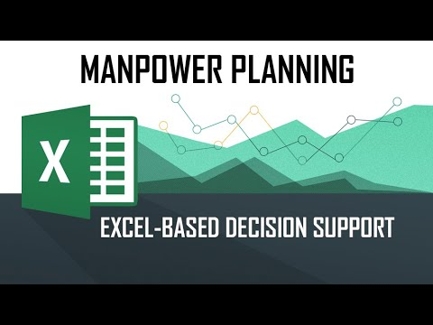 DSS - Manpower Planning (Using M/S Excel Solver Tool)