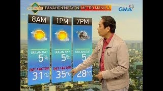 Download UB: Weather update as of 5:55 a.m. (March 25, 2019) Video