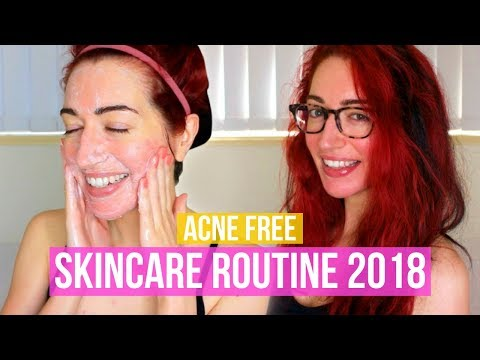 I'M ACNE FREE! My Updated Skincare Routine 2018 (Accutane & Sensitive, Dry Skin)