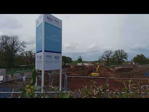 New housing work starts at Haygate Road, Wellington