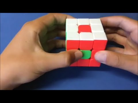 Tutorial- How to Make the Donut Pattern (3x3) Rubik's Cube