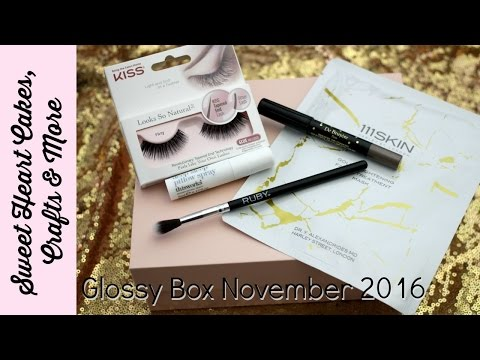 Glossy Box Unboxing November 2016