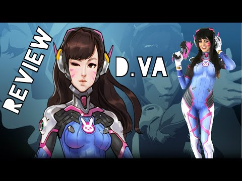 D.VA COSPLAY SUIT FULL UNBOXING + REVIEW VIDEO