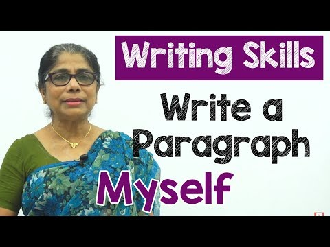 How to Write a Paragraph about Myself in English | Composition Writing  | Reading Skills