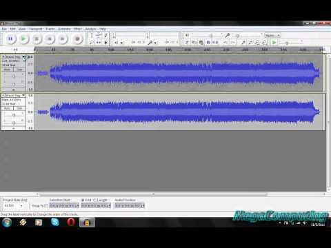 ..::How To Make A Karaoke Track Using Audacity::..