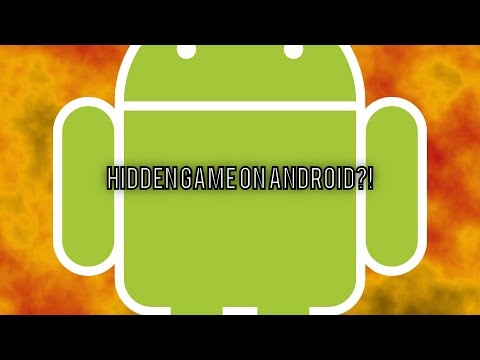 How to play the Hidden Easter Egg Game on Android! ANDROID 6.0 [2016]