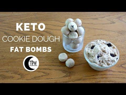 Keto Cookie Dough Bites | Low-Carb Chocolate Chip Cookie Dough Dip Recipe
