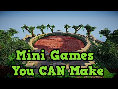 Minecraft Xbox 360 / PS3: 4 Minigames You Can Make