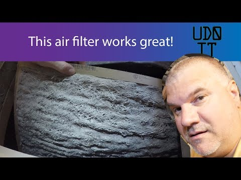 How to Change your AC Filter / HVAC / Furnace and When to Replace - How To Install HVAC Air Filter