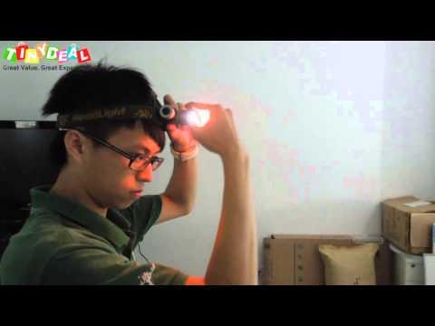 270 Lumens Cree Q5 LED 3-Mode Headlamp
