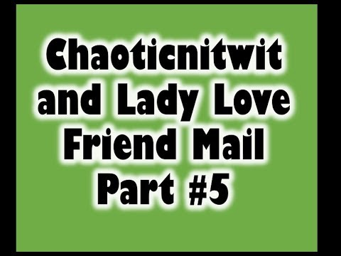 Winning NC Diamond Dazzler...Friend Mail from Chaoticnitwit and Lady Love the final part #5