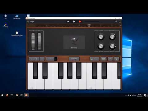 Playing GarageBand on Windows