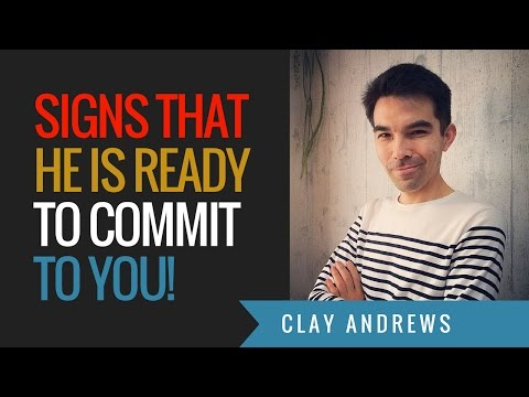 5 Signs that a Guy is Ready to Commit to You