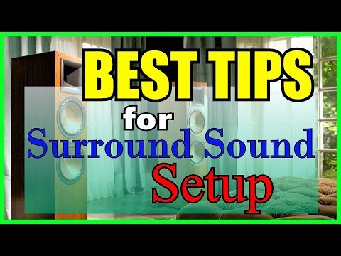 BEST TIPS: Home Audio & Surround Sound Setup