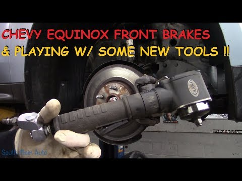Chevy Equinox: Front Brakes