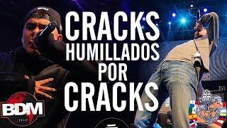 Cracks HUMILLADOS Por Otros Cracks En Batallas De Gallos Rap! SEGUNDA PARTE!