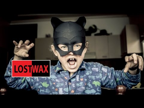 DIY Mask for Catwoman costume tutorial. Halloween fun!