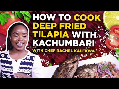 Making Deep Fried Tilapia🐟 with Kachumbari: Easy Fish Recipe | TUKO Lifestyle