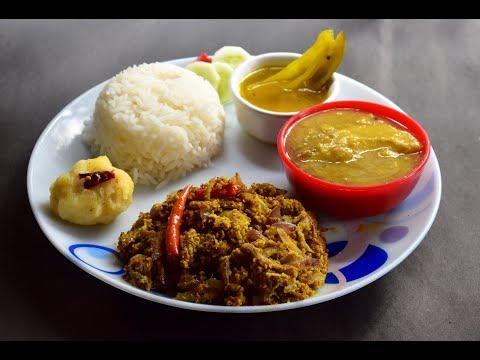 How to make Popular Bengali Dish Peyaj Posto | Onion-Poppy Seeds Paste Recipe #334