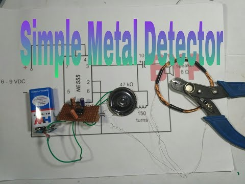 How to make a Metal Detector at Home(hindi)