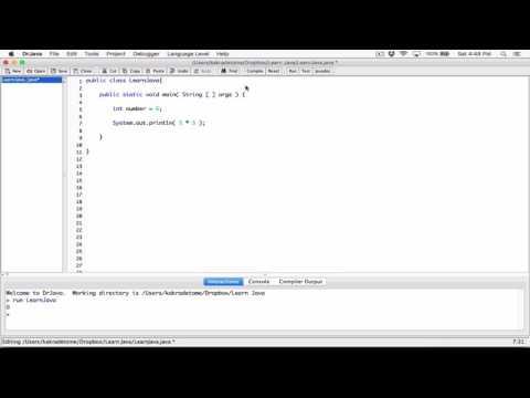34. Arithmetic operators: modulus - Learn Java