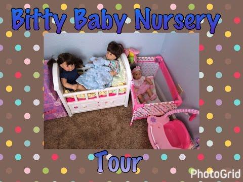 Bitty Baby Nursery Tour