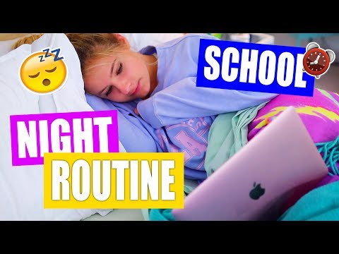 Night Routine for School