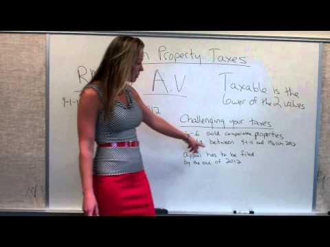 Christine Browning - Appealing Your Property Taxes