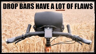Why Flat Bars Are BETTER Than Drop Bars For Most Cyclists (Objective Analysis)