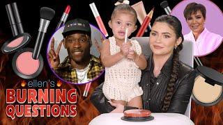 Kylie Jenner & Stormi Answer Ellen's 'Burning Questions'