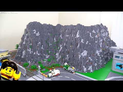 Slow work on the LEGO city's