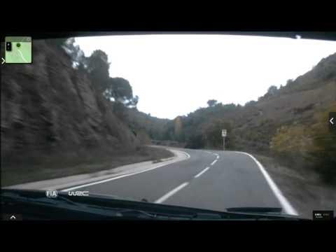 Onboard Kubica rally Catalunya-costa Daurada ss10 2015