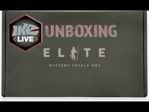 Mystery Tackle Box Elite Unboxing on Ike Live