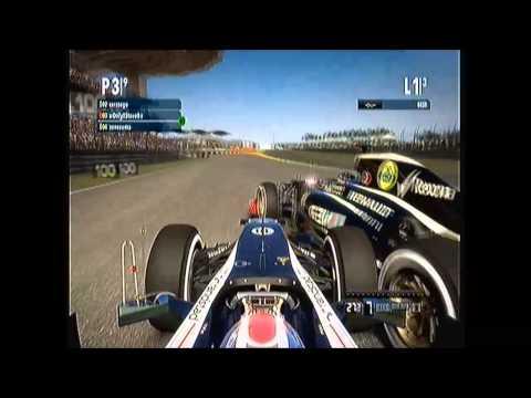 F1 2012 Codemasters Malaysia 3 lap sprint (xbox 360)