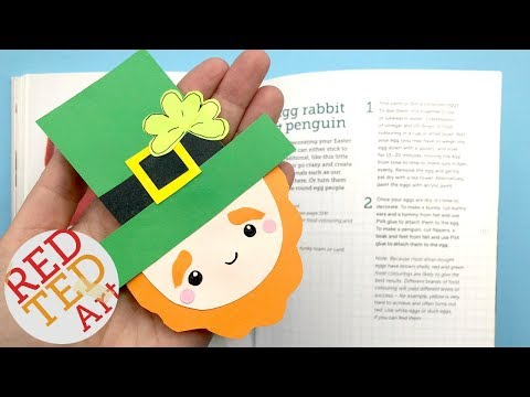 Leprechaun Corner Bookmark DIY   St Patrick's Day DIY