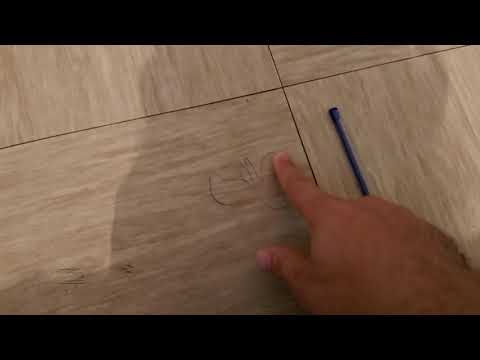 How to clean pen ink wooden floor
